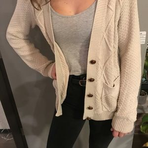 Urban Outfitters Sweaters - Cardigan sweater cream with button detail